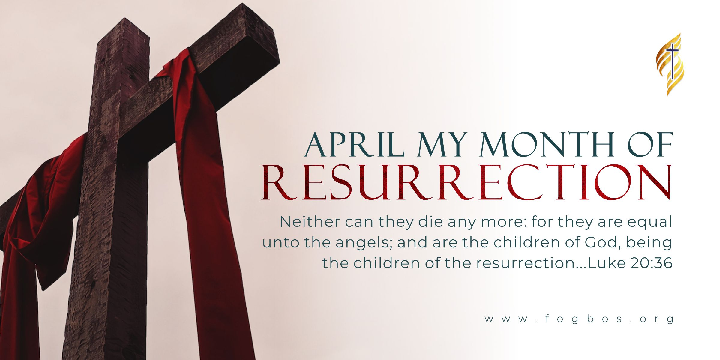 April My Month Of Resurrection